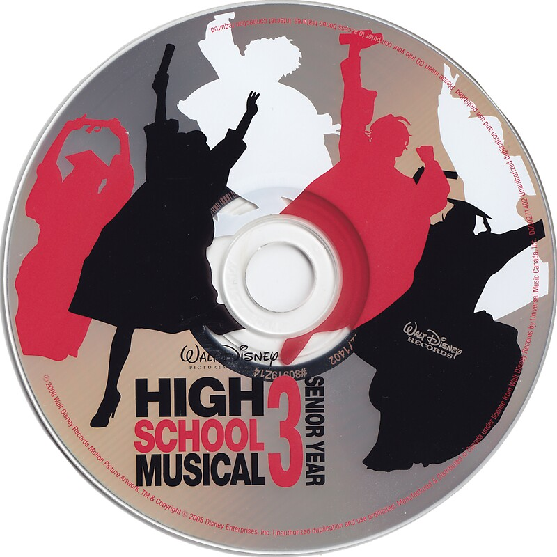 High School Musical 3 Soundtrack CD by genniferjordyn