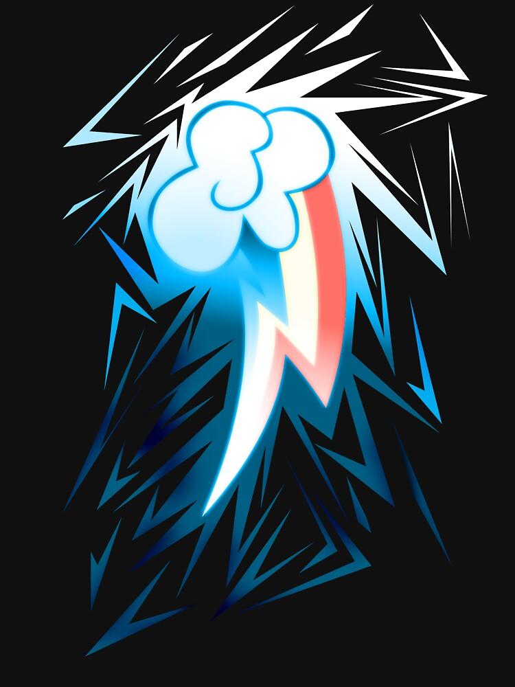 Shards of Rainbow Dash's Cutiemark by Nightmarespoon
