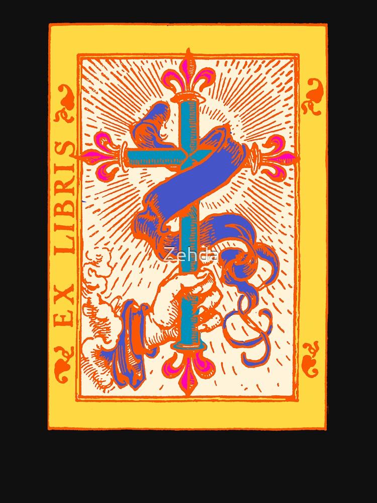 Cross Banner & Fleur De  Lys by Zehda