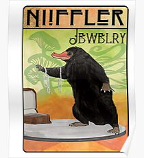 Niffler Jewelry Poster
