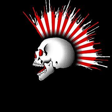 Kamikaze Skull! by RevolutionGFX