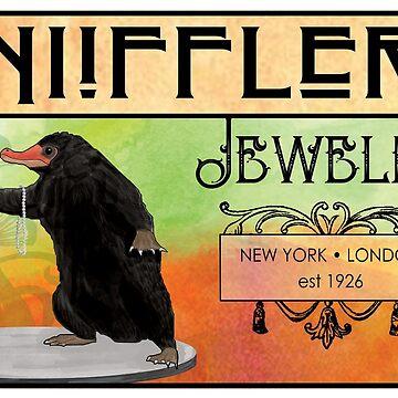 NIiffler Jewelry Pouch by Kaybi76