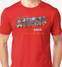 Greetings from Athens, Ohio Unisex T-Shirt