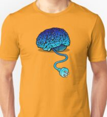 Your Brain without Coffee - Blue T-Shirt