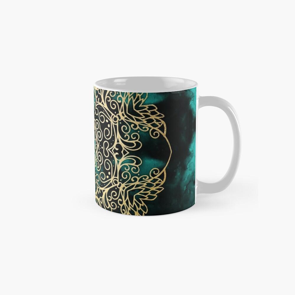 Gold & Dark Mandala Mug