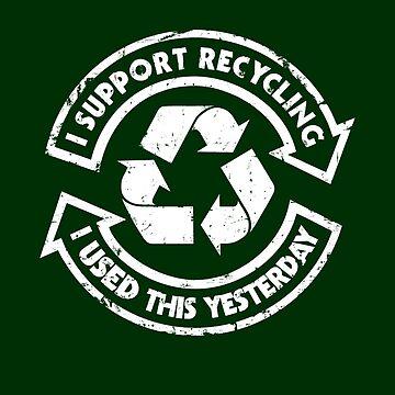 Ich unterstütze das Recycling von RevolutionGFX