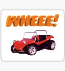 Whee! Dune buggy Sticker