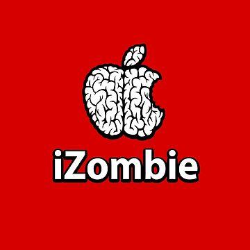 Apple iZombie -white- by RevolutionGFX