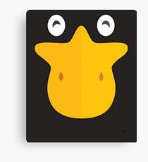 Duck Face Funny Animal Bill Canvas Print
