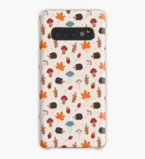 Autumn hedgehog Case/Skin for Samsung Galaxy
