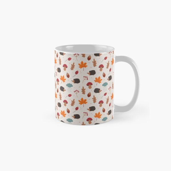 Autumn hedgehog Classic Mug