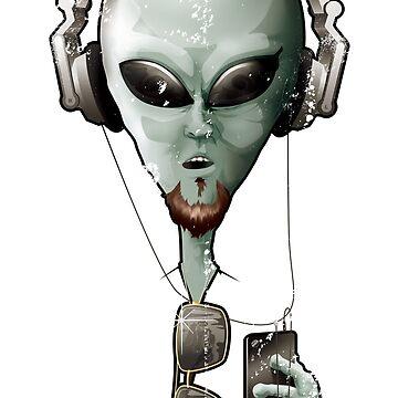 Selfie Alien by wademcm