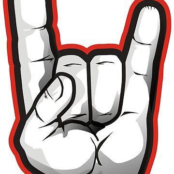 Hand Devil Horns! by wademcm