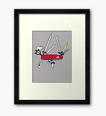 Hylian Army Knife Framed Print