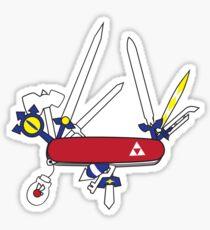Hylian Army Knife Sticker