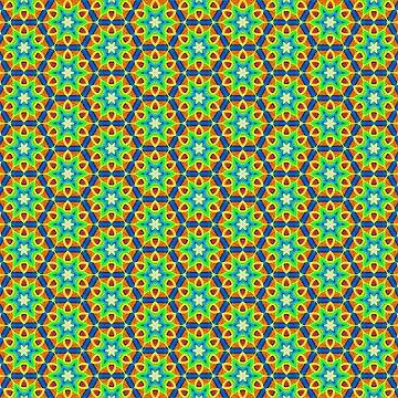Loom Kaleidoscope 1 by figureofpeach