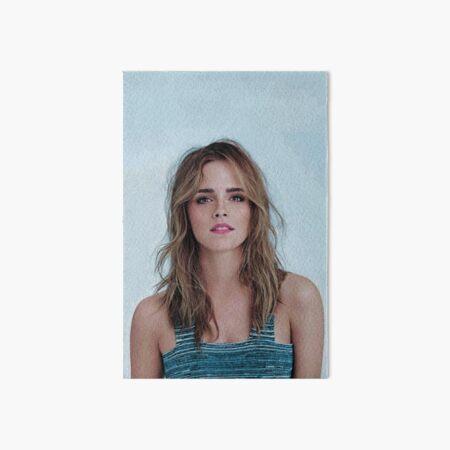 Emma Watson Art Board Print