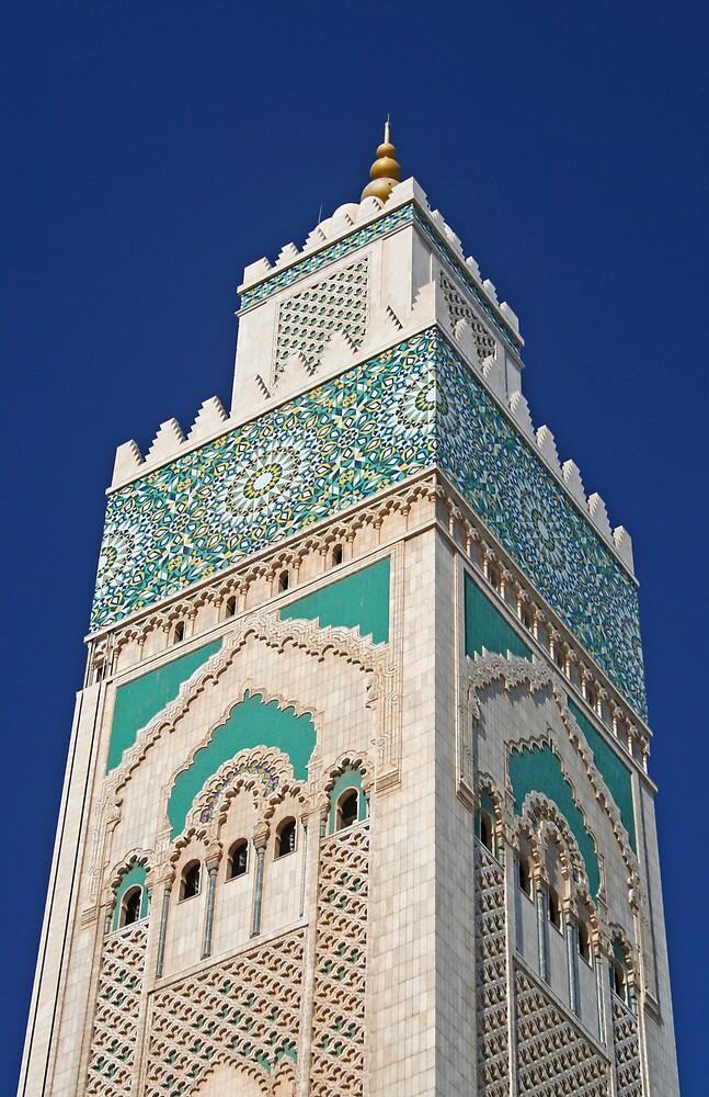 Hassan II Mosque, Casablanca by Karen Millard