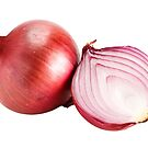 Red onion by Johan Larson