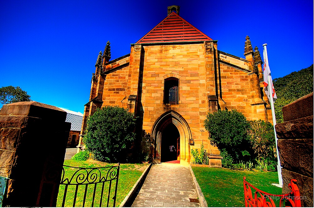 Convict Stone - The Garrison Church - The Rocks - The HDR Series by Philip Johnson