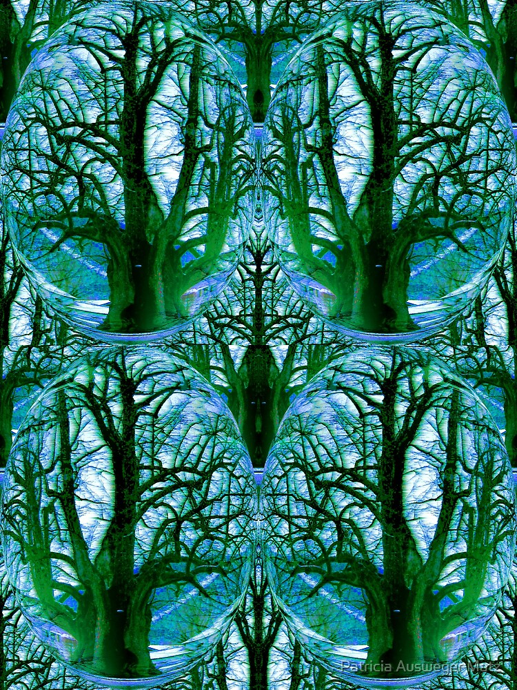 Lime tree is frozen by Patricia Ausweger Matz
