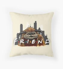 He'll Be There For You  Throw Pillow