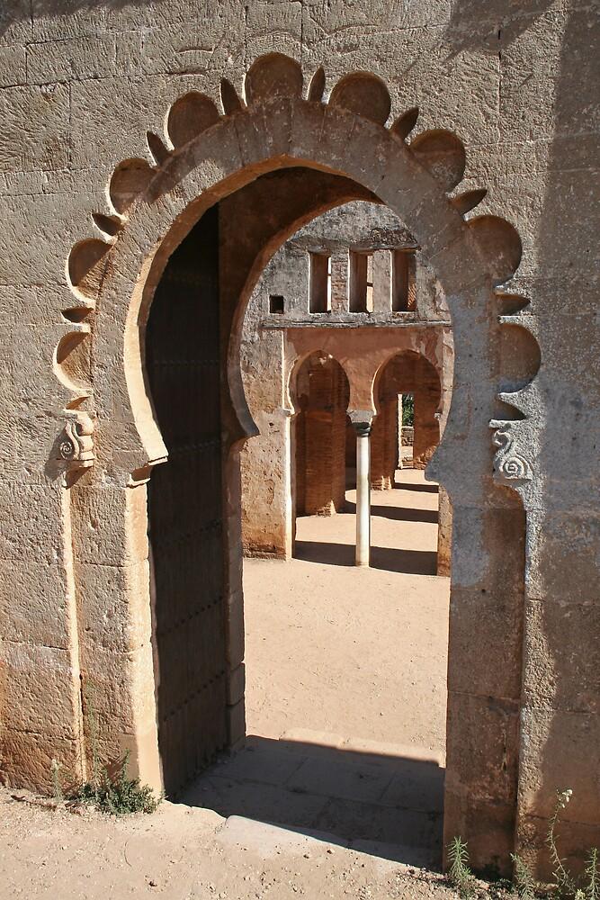 Chellah, Rabat, Morocco by Karen Millard