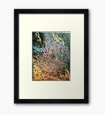 Slim and bright Framed Print