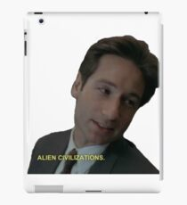alien civilizations iPad Case/Skin
