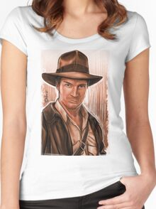 Indiana Fillion Women's Fitted Scoop T-Shirt