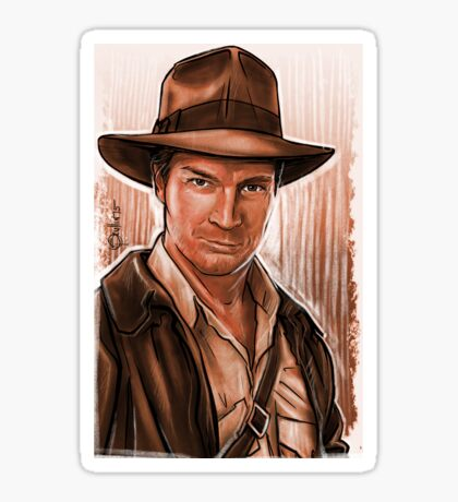 Indiana Fillion Sticker