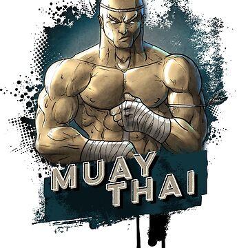 Muay Thai Warrior by wademcm