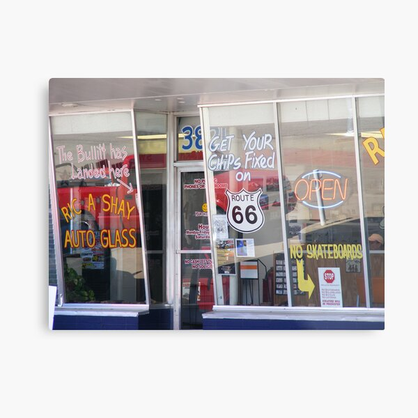 Get Your Chips Fixed? Metal Print