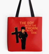 DAMIEN THE SMITHS THE OMEN MORRISSEY Tote Bag