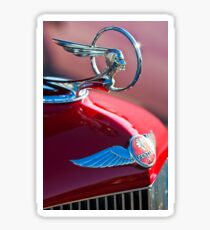 1933 Pon Hood Ornament -377c Sticker