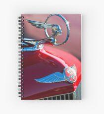 1933 Pon Hood Ornament -377c Spiral Notebook