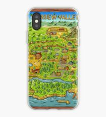Stardew Valley Karte iPhone-Hülle & Cover