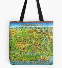Stardew Valley Map Tote Bag