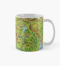 Stardew Valley Map Mug