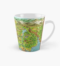 Stardew Valley Map Tall Mug