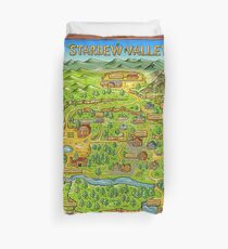 Funda nórdica Mapa de Stardew Valley