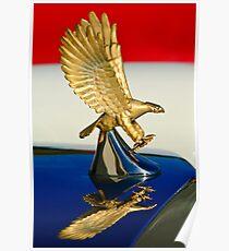 1986 Zimmer Golden Spirit Hood Ornament -0702c Poster