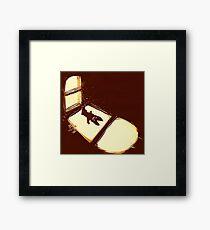 Shadow Kitty Framed Print