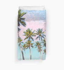 Kokosnuss-Palmen #redbubble #decor #buyart Bettbezug