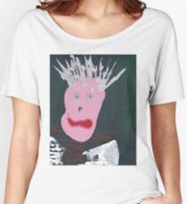 Punk - Martin Boisvert - Faces à flaques T-shirts coupe relax