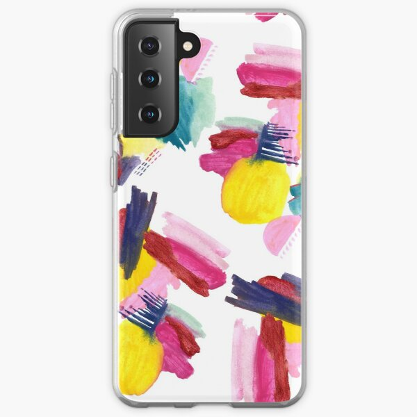 Abstract 1: Razzle Dazzle Samsung Galaxy Soft Case