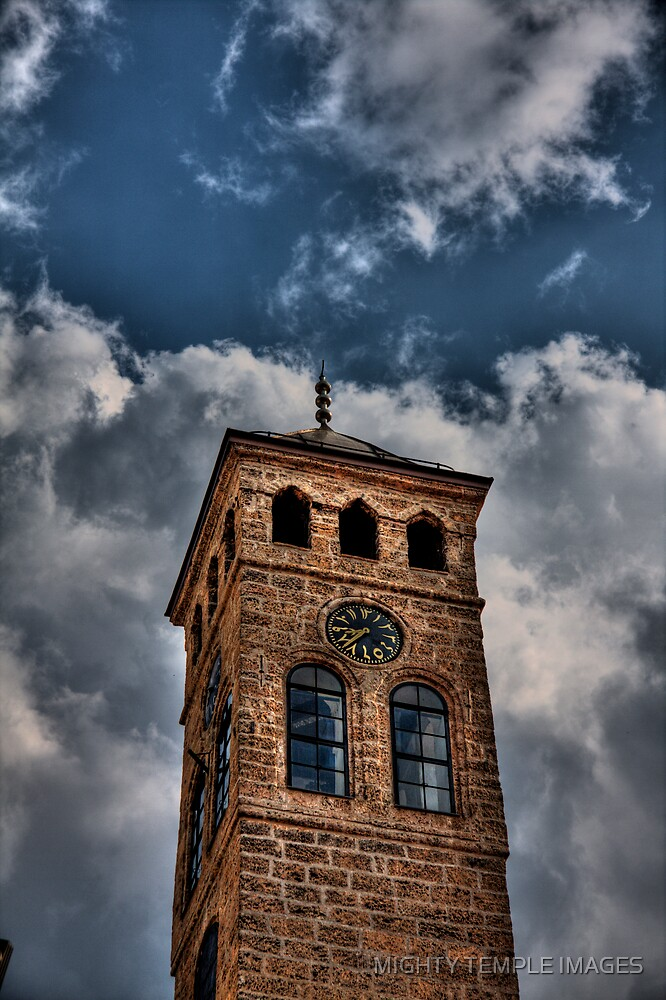 Up there ... by MIGHTY TEMPLE IMAGES