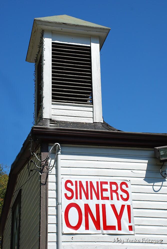 Sinners by Judy Yanke Fritzges