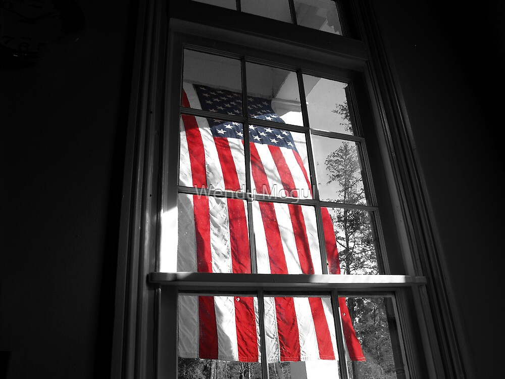 American Window  by Wendy Mogul