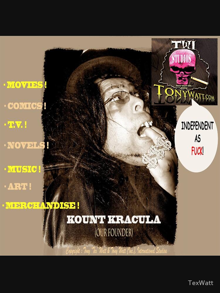 Title: Kount Kracula Review Showcase TV Show Promo Poster Art #2 -Hollyweird, Toronto, Canada by TexWatt